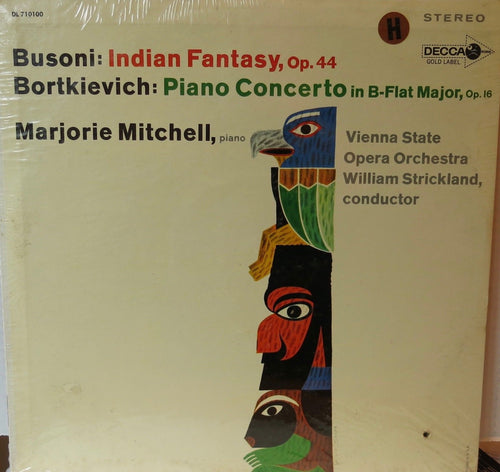 Indian Fantasy For Piano And Orchestra - Decca