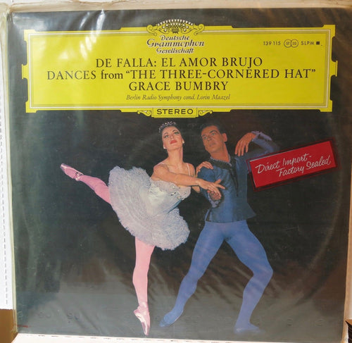 De Falla El Amor Brujo Dances from The Three Cornered Hat Bumbry - Deutsche Grammophon