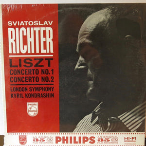 Liszt Concerto No 1 and 2 Sviatoslav Richter - Philips