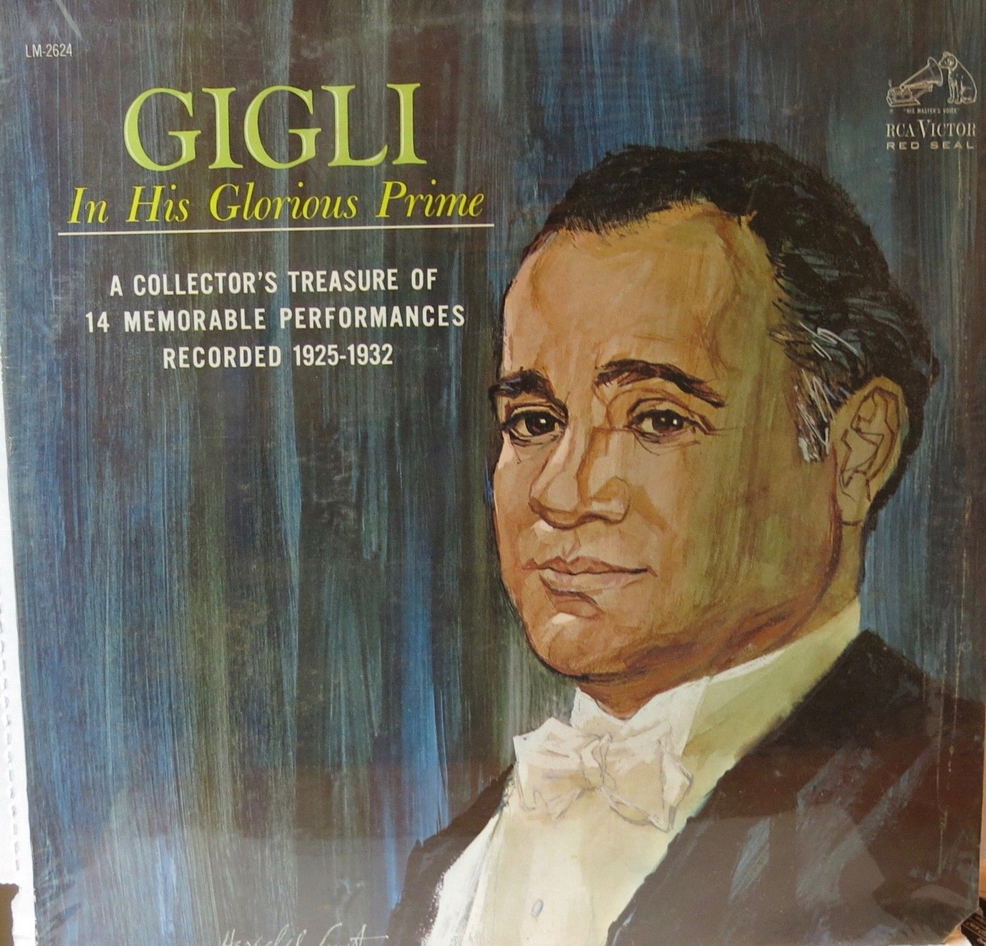 Gigli in His Glorious Prime - RCA Victor