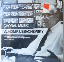 Vladimir Ussachevsky the Choral Music Vladimir Ussachevsky - Composers Recordings Inc.