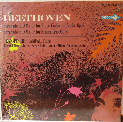 Rampal - Beethoven Serenade in D Major for Flute, Violin, and Viola - Friedman & Sons