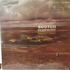 Mendelsohn Scotch Symphony Scherzo from Octet in E Flat - RCA Victor