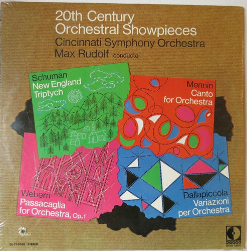 20th Century Orchestral Showpieces | Vinyl Record by Decca