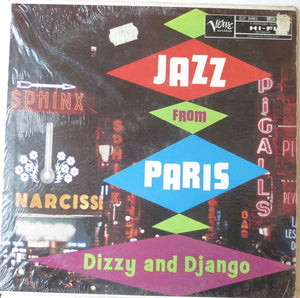 Jazz from Paris - Dizzy and Django - Verve