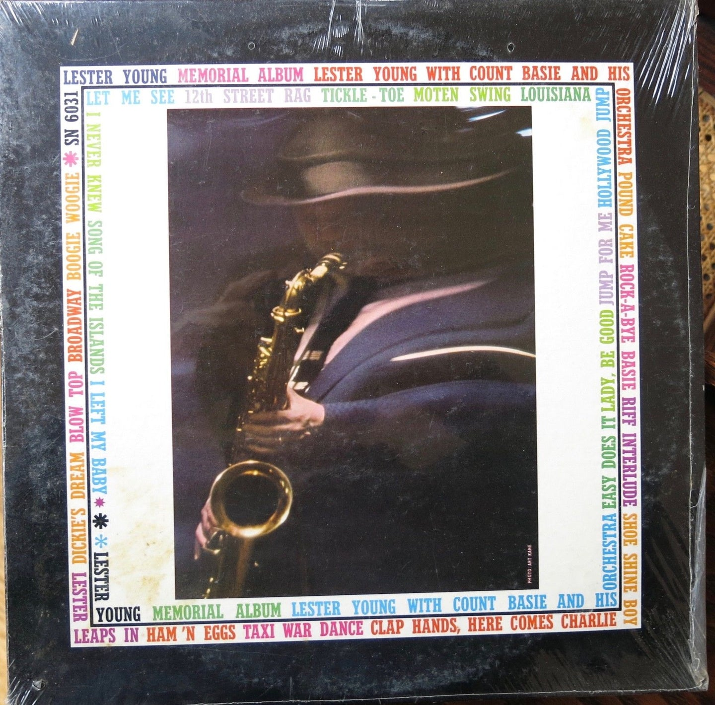 Lester Young Memorial Album 2 Record Set - Epic