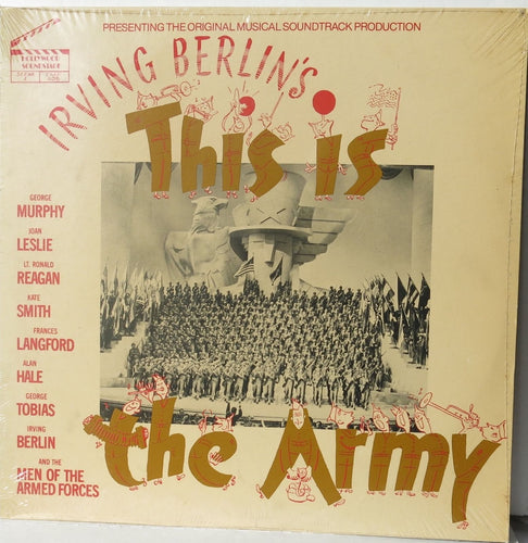 This is the Army - Irving Berlin Vintage Vinyl - Hollywood Soundstage