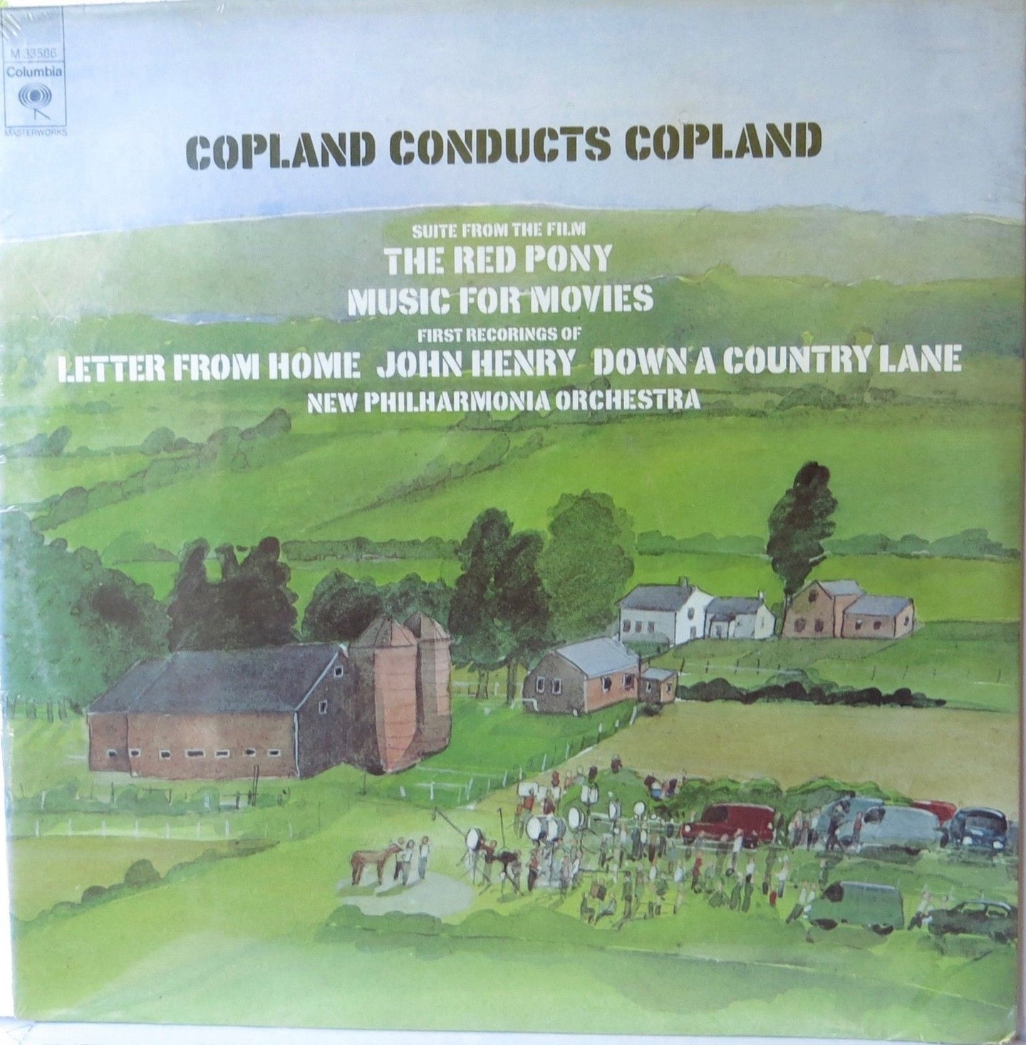 Copland Conducts Copland - Columbia