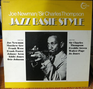 Joe Newman - Sir Charles Thompson ‎– Jazz Basie Style - Vanguard
