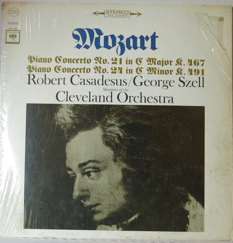 Mozart Piano Concerto 21 and 24 - Columbia