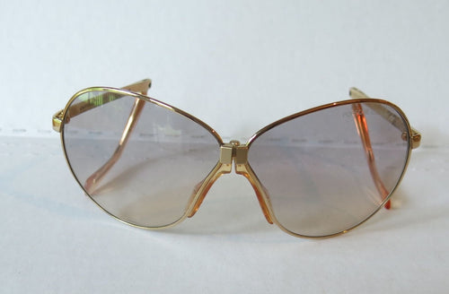 Porsche Carrera 5626-40 Gold Folding Glasses - Porsche