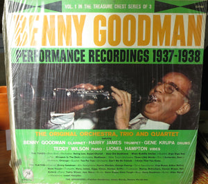 Benny Goodman - Performance Recordings 1937-1938 | Vinyl Record by MGM