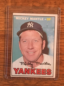 1967 Topps #150 Mickey Mantle | Baseball Card by Topps