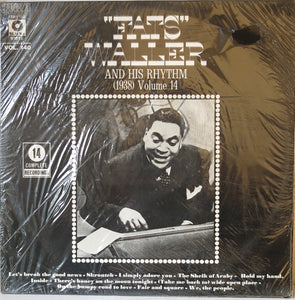Fats Waller and his Rhythm (1938) Volume 140 - Black & White