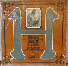 Hot Lips Page, Rubberlegs Williams ‎– 1944 - Hot Lips Page - Black & Blue