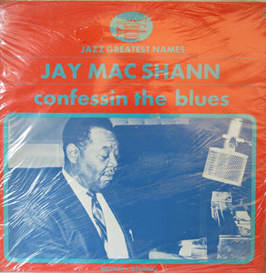 Jay McShann - Confessin The Blues - Black & Blue