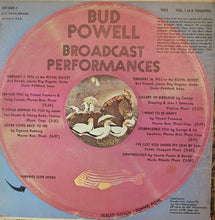 Bud Powell Broadcast Performances | Vinyl Record by ESP