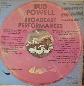 Bud Powell Broadcast Performances - ESP
