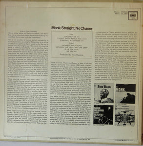 Monk Straight, No Chaser - Columbia