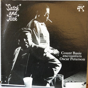 "Count Basie encounters Oscar Peterson ‎– ""Satch"" And ""Josh"" - Pablo"