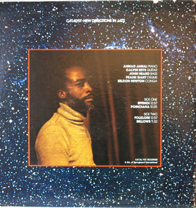 "Ahmad Jamal ‎– Recorded Live At ""Oil Can Harry's"" - Catalyst"