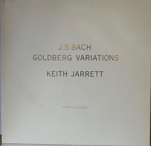 Keith Jarrett - J.S. Bach Goldberg Variations - ECM