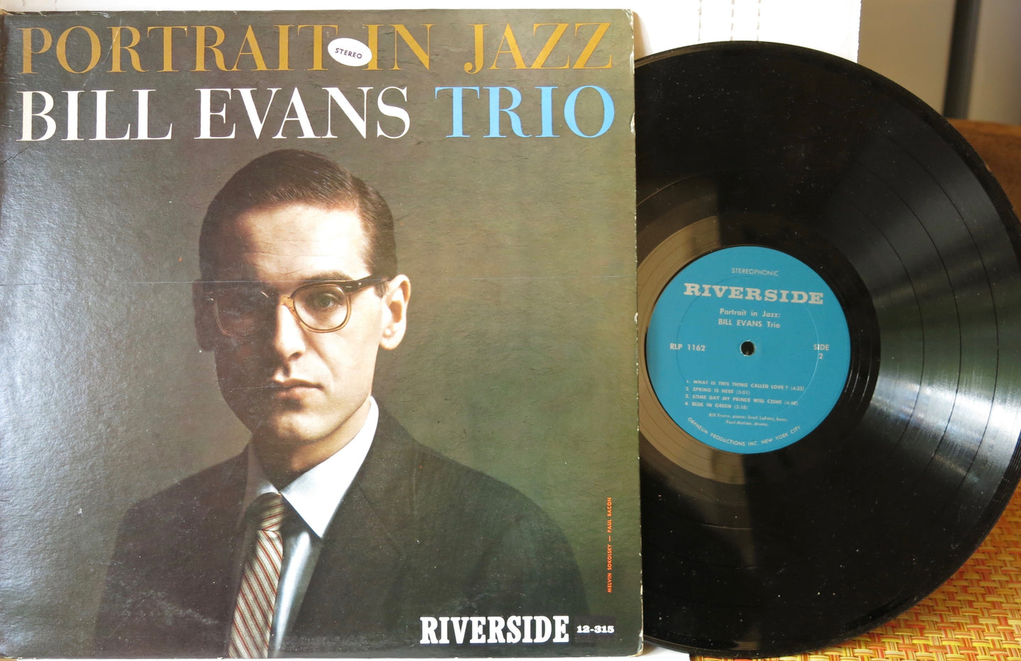 Bill Evans Trio ‎– Portrait In Jazz | Vinyl Record by Riverside