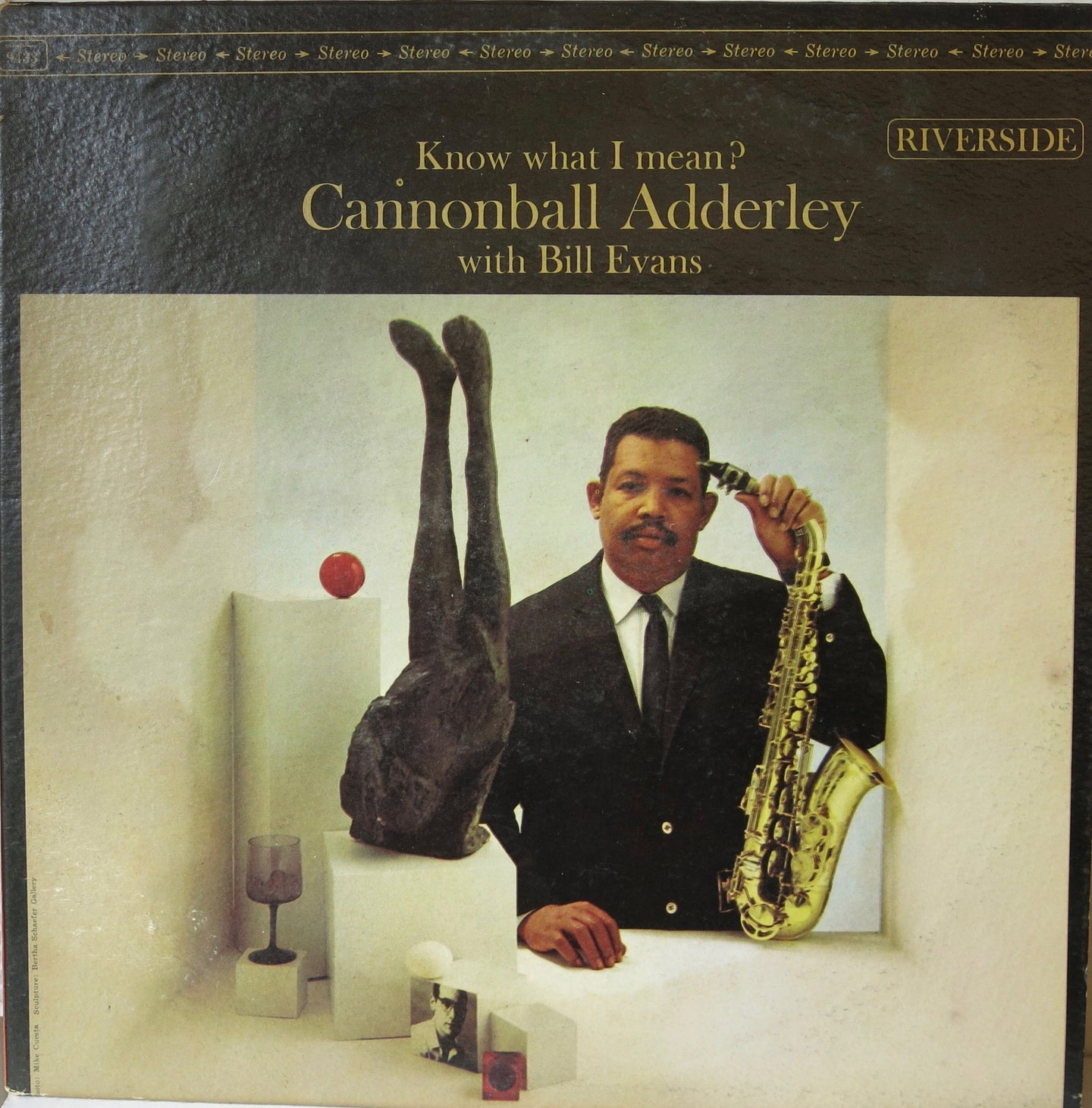 Know What I Mean? - Cannonball Adderly with Bill Evans - Riverside
