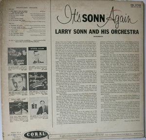 Larry Sonn Orchestra ‎– It's Sonn Again