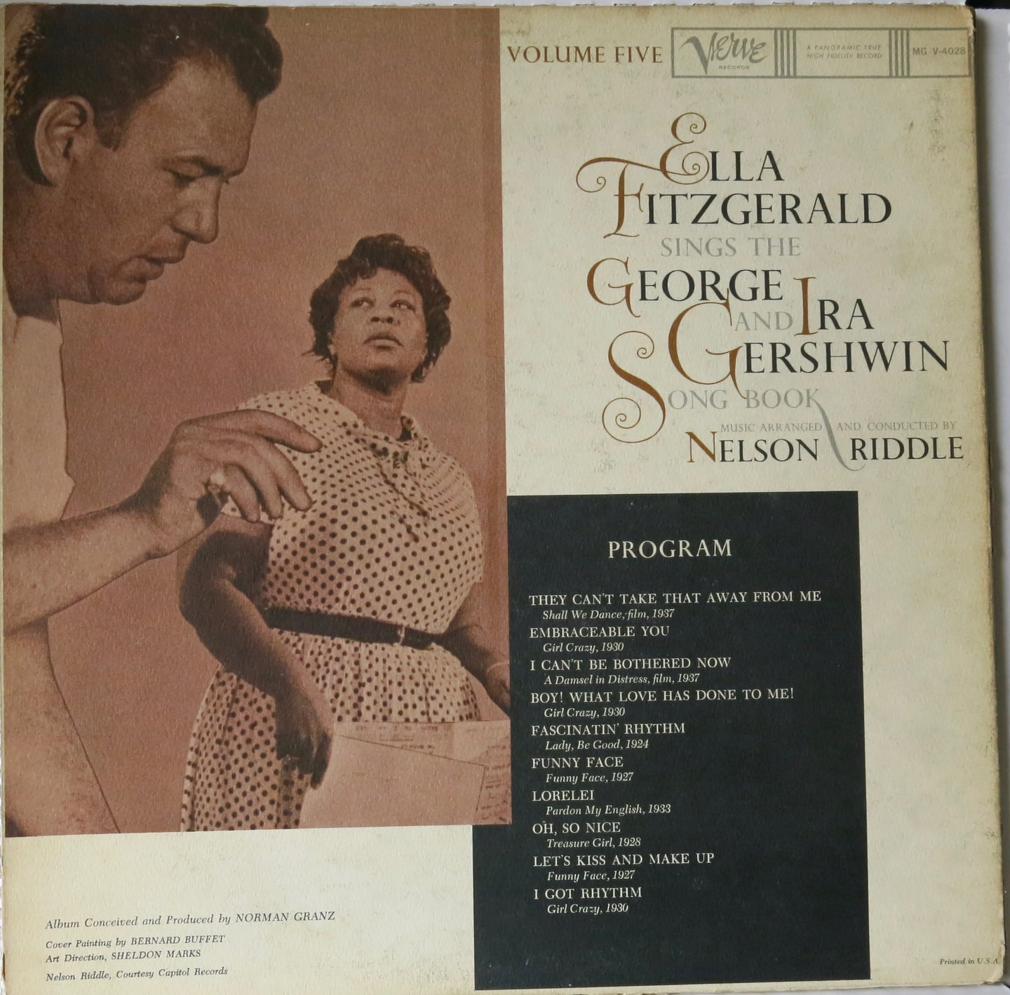 Ella Fitzgerald Sings The George & Ira Gershwin Song Book Vol. 5