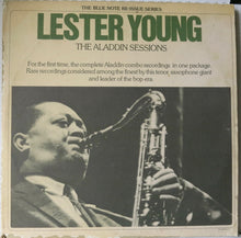 Lester Young ‎– The Aladdin Sessions