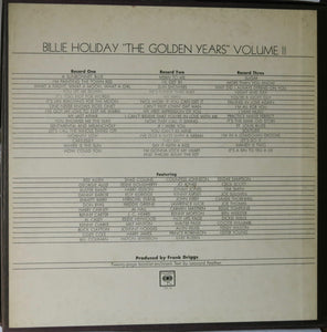 "Billie Holiday ‎– ""The Golden Years"" Volume II 