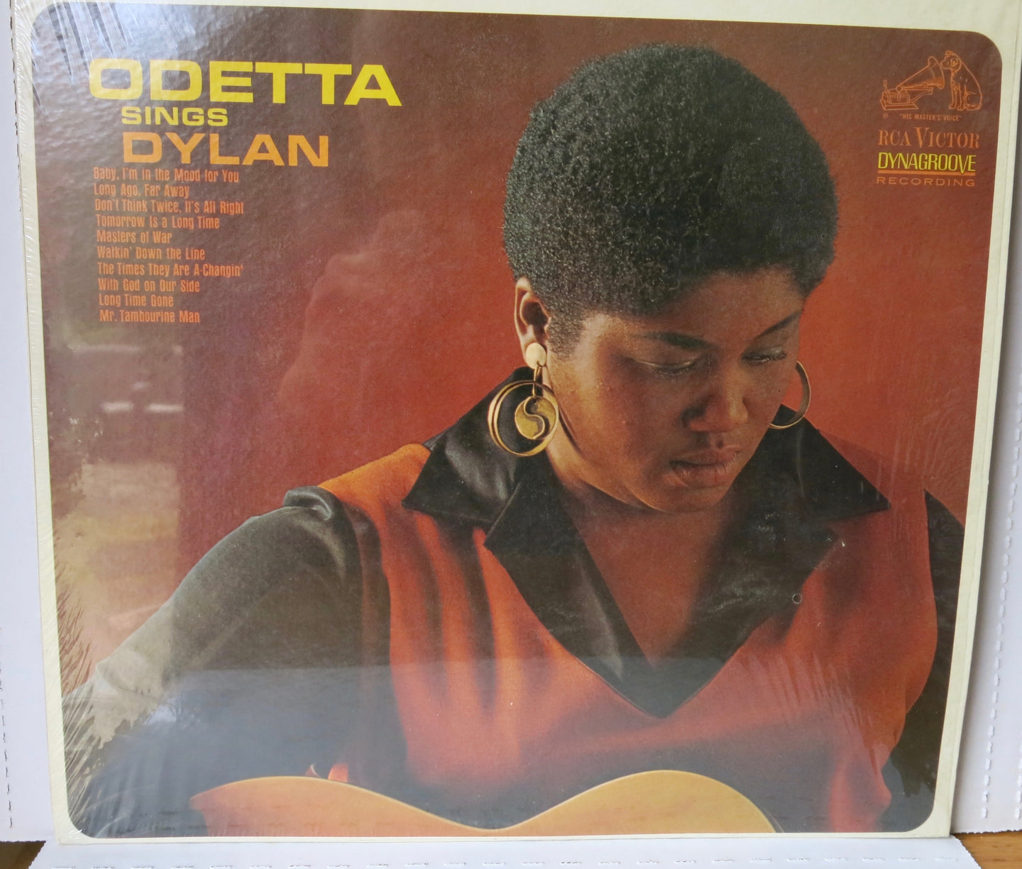 Odetta Sings Dylan | Vinyl Record by Volt | Friedman & Sons