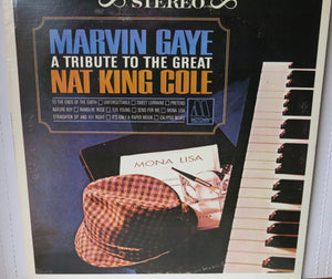 Marvin Gaye ‎– A Tribute To The Great Nat King Cole | Vinyl Record by Motown | Friedman & Sons