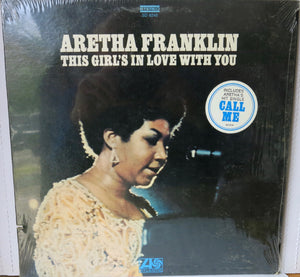 Aretha Franklin ‎– This Girl's In Love With You