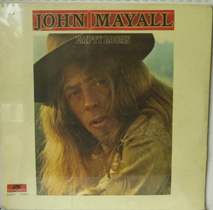 John Mayall ‎– Empty Rooms | Vinyl Record by Polydor | Friedman & Sons