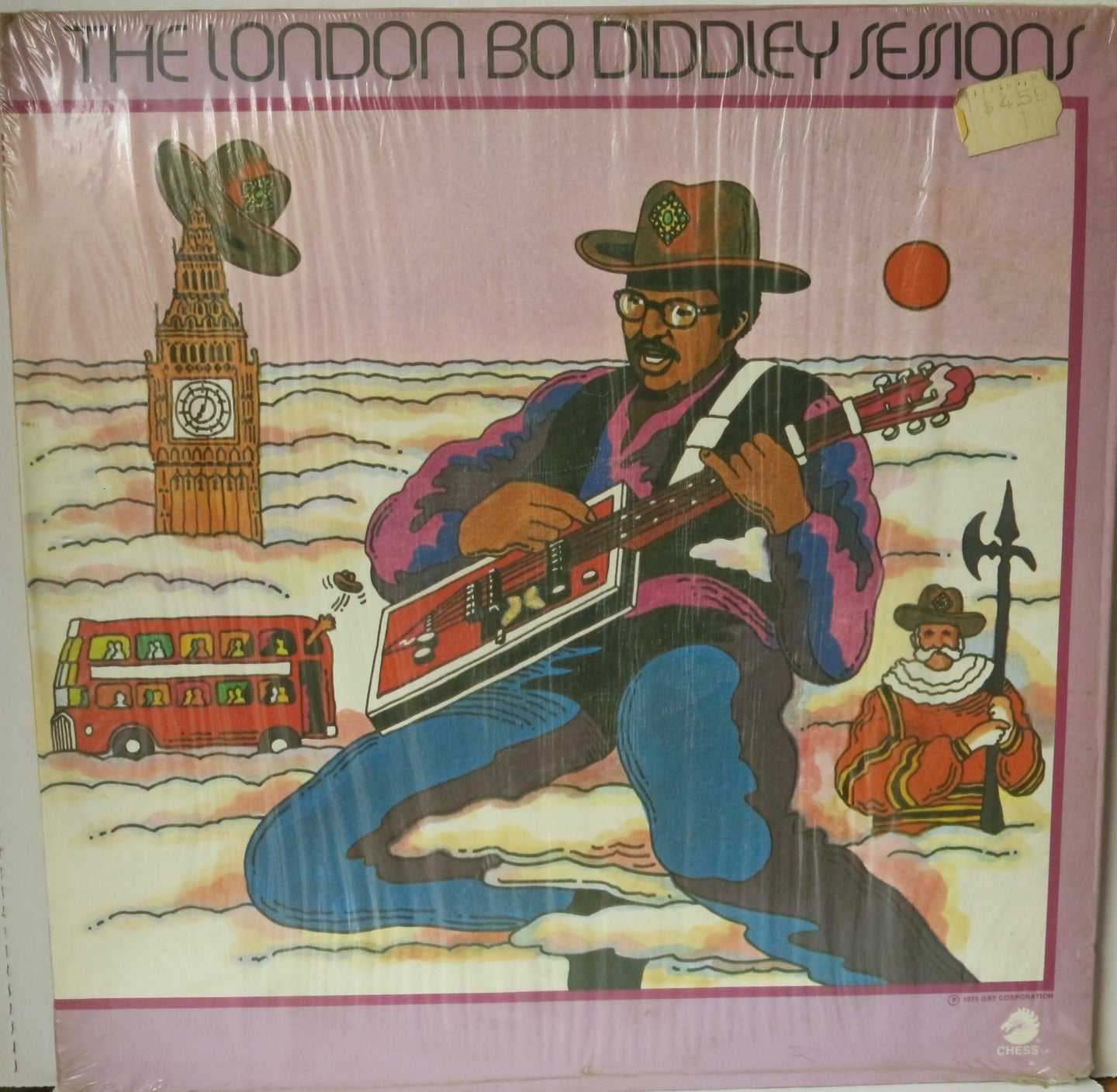 Bo Diddley ‎– The London Bo Diddley Sessions | Vinyl Record by Chess | Friedman & Sons