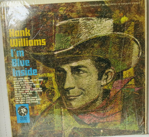 Hank Williams ‎– I'm Blue Inside | Vinyl Record by Columbia | Friedman & Sons