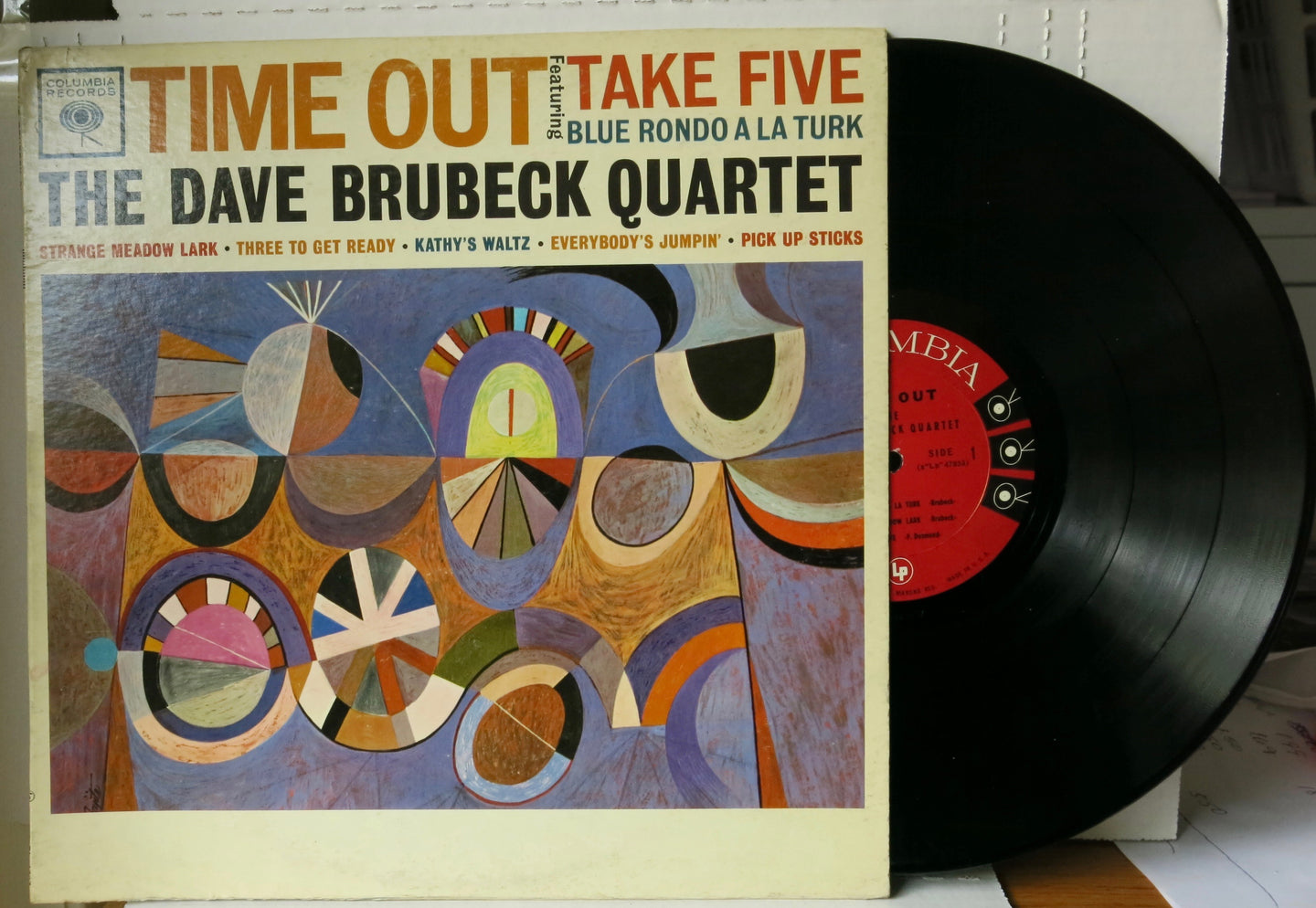 The Dave Brubeck Quartet ‎– Time Out | Vinyl Record by Columbia | Friedman & Sons
