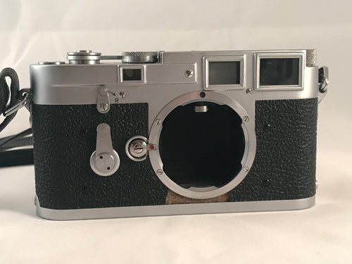 Leica M3 DS Double Stroke Rangefinder Chrome Camera - Friedman & Sons