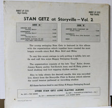 Stan Getz ‎– At Storyville - Vol. 2