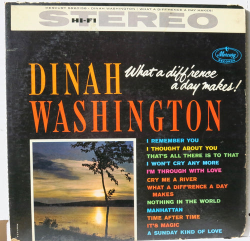 Dinah Washington ‎– What A Diff'rence A Day Makes!