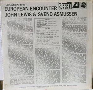 John Lewis & Svend Asmussen ‎– European Encounter