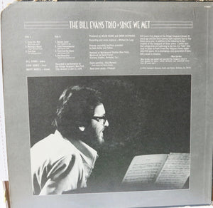 The Bill Evans Trio ‎– Since We Met