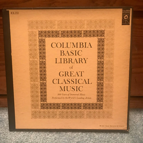 Various ‎– Columbia Basic Library Of Great Classical Music - Columbia Masterworks