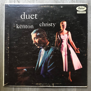 Christy, Kenton ‎– Duet - Capital Records