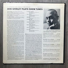 Don Shirley ‎– Don Shirley Plays Show Tunes - Cadence Records