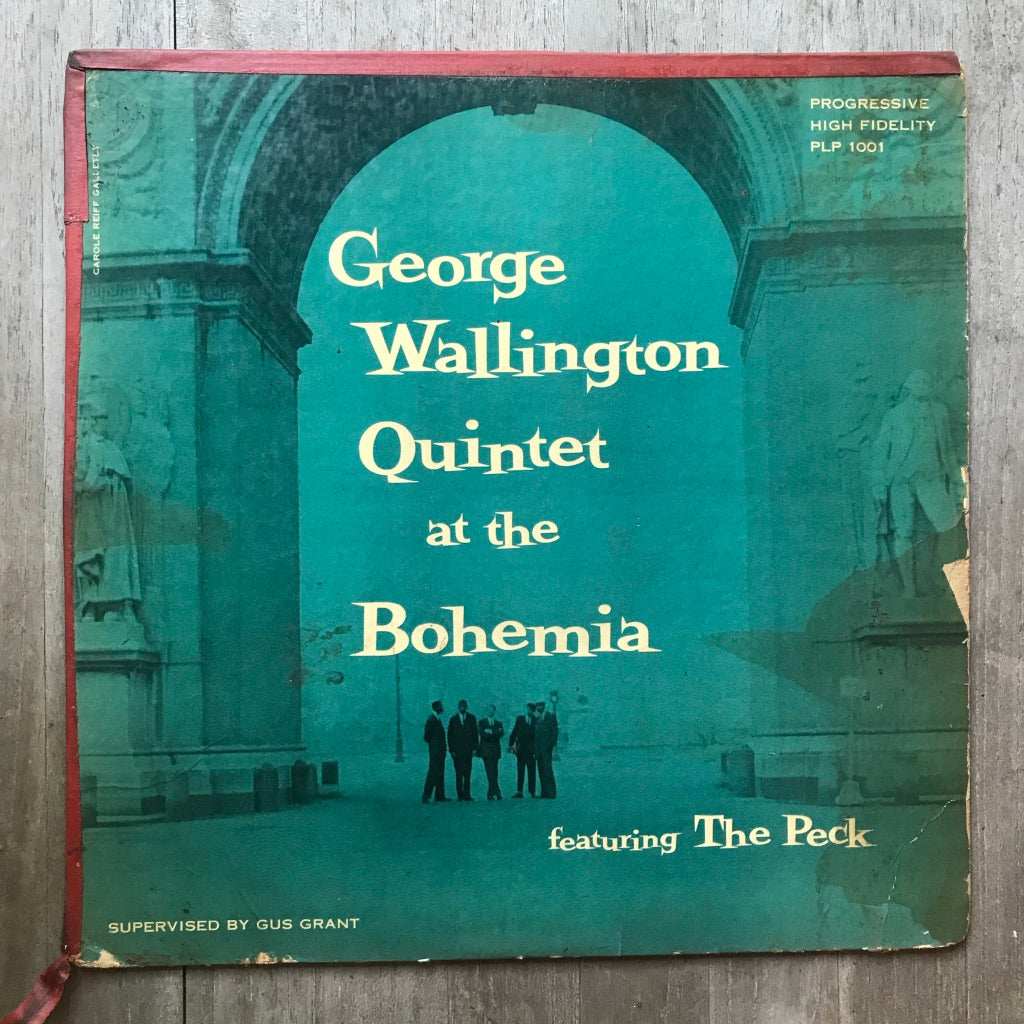 George Wallington Quintet at the Bohemia - Progressive Records