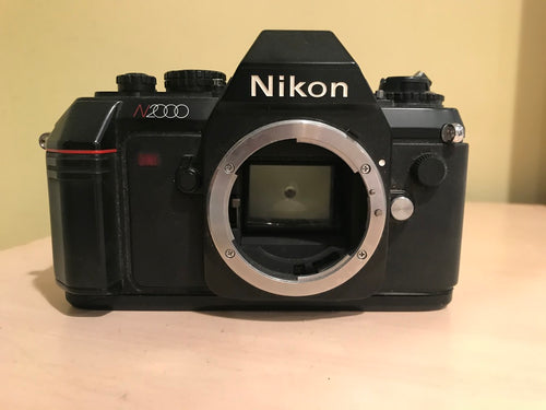 Nikon N2000 SLR (parts only) - Friedman & Sons