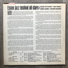 Oscar Pettiford, Bud Powell, Kenny Clarke, Coleman Hawkins ‎– Essen Jazz Festival All Stars - Fantasy